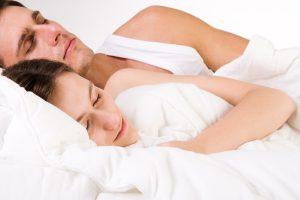 Young Couple Sleeping